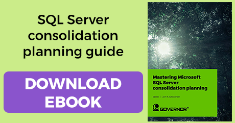 How to master the consolidation planning of a SQL Server platform