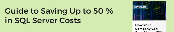 Show me how to save 30-50% of my SQL Server costs