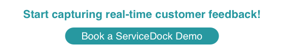 Start capturing real-time customer feedback using ServiceDock