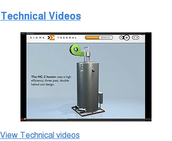 Technical Videos <http://industrial.sigmathermal.com/videos-form>  <http://industrial.sigmathermal.com/videos-form> View Technical videos  <http://industrial.sigmathermal.com/videos-form>