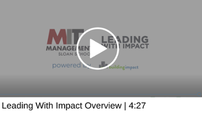 Leading With Impact Overview