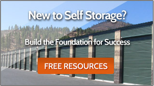 New to Self Storage