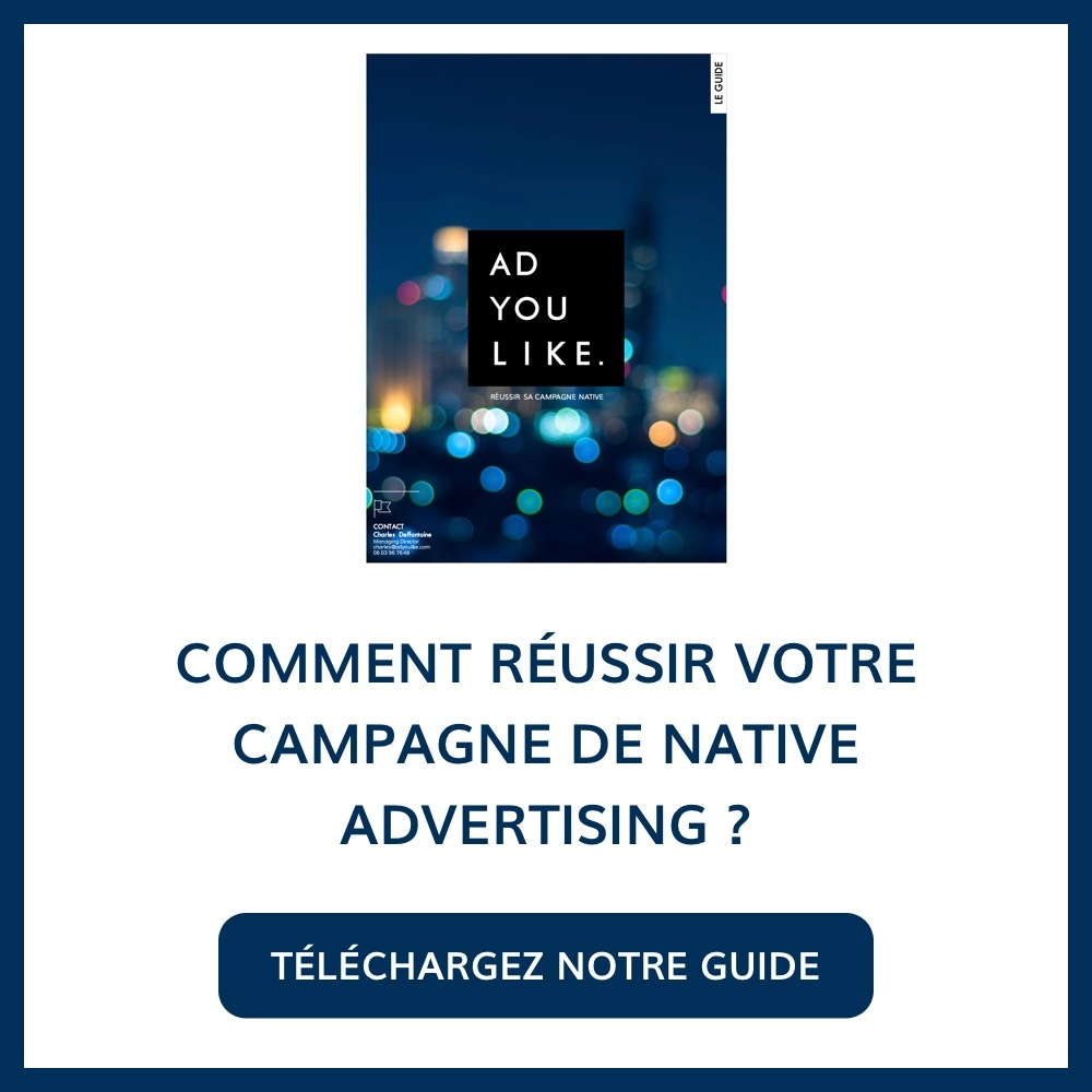 Téléchargez le Guide du Native Advertising
