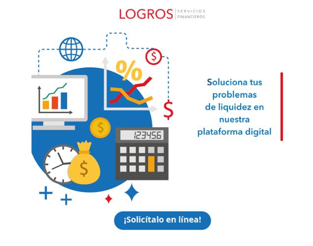 Soluciona tus problemas de liquidez en nuestra plataforma digital