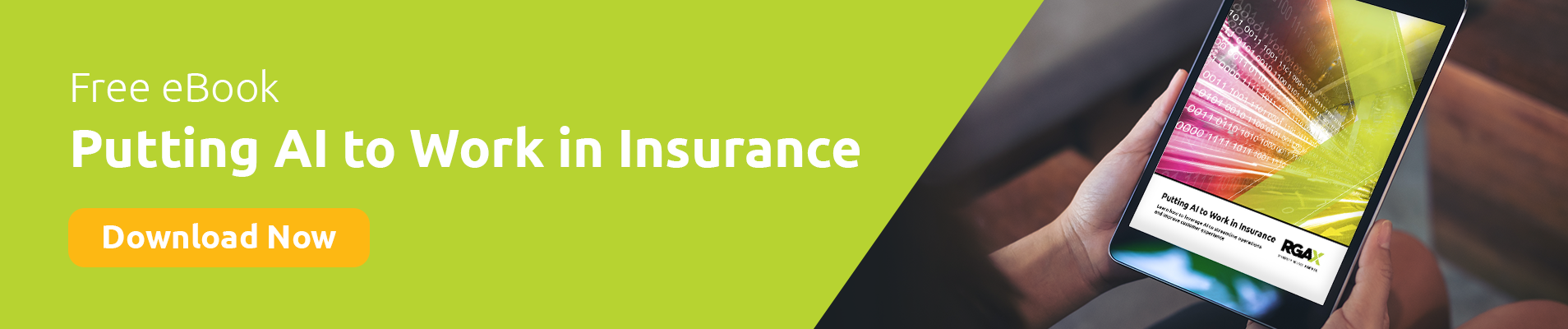 Putting AI to Work in Insurance - Download eBook