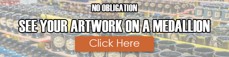 No Obligation: See Your Artwork on a Medallion