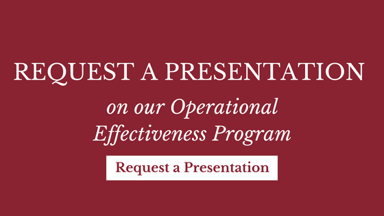 Presentation on Operational Effectiveness Program