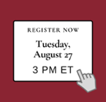 Register Tues Aug 27 at 3 PM Income Opt & Competitive Intel Webinar