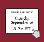 Register Thurs Sept 26 at 3 PM Income Opt & Competitive Intel Webinar