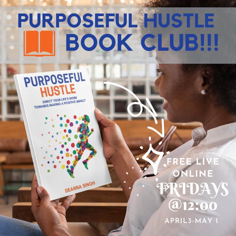 Purposeful Hustle Book Club