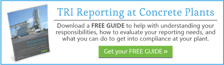 TRI Reporting at Concrete Plants Guide