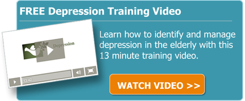 Depression training video for caregivers to learn how to identify and manage depression