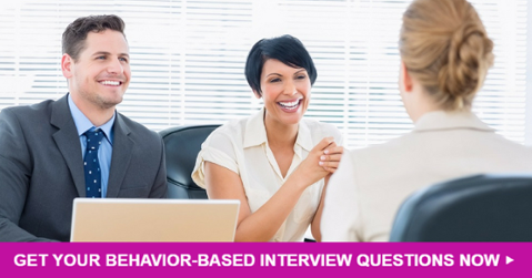 Behavior Based Interview Questions Graphic