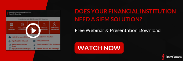 SIEM For Finance