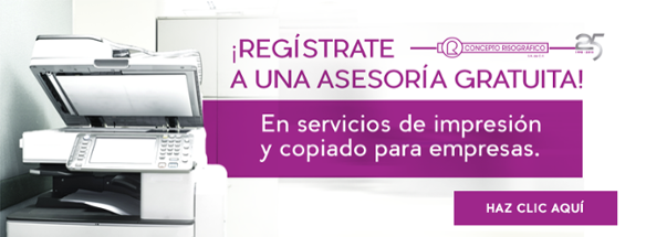 Asesoría Gratuita - Renta y venta de equipos de impresión digital