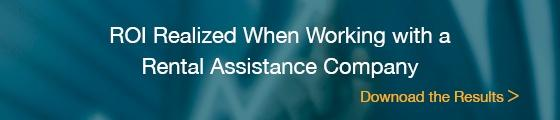ROI When Working with a Rental Assistance Company
