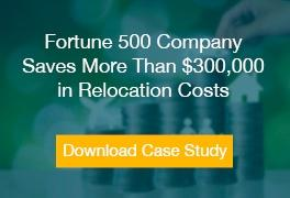 Fortune 500 Company Saves More Than $300,000 in Relocation Costs