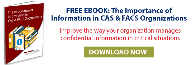 The Importance of Information in CAS and FACS Organizations