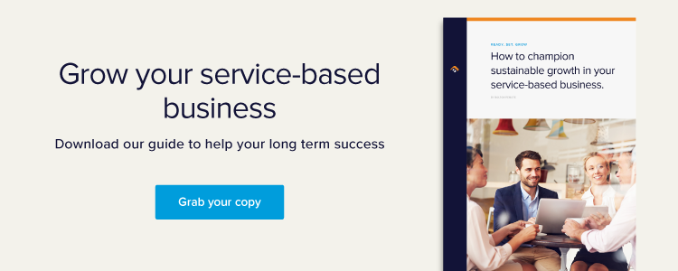growing your service based small business