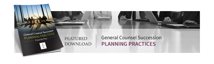 Download General Counsel Succession Planning Practices
