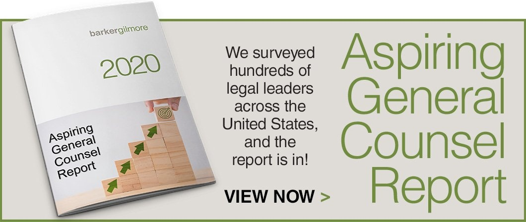 2020 Aspiring General Counsel Report