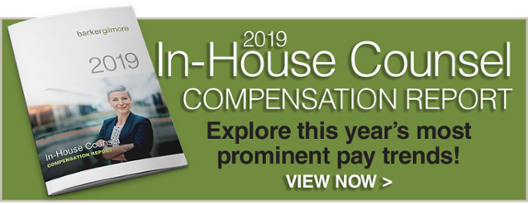 Download the 2019 In-House Counsel Compensation Report!