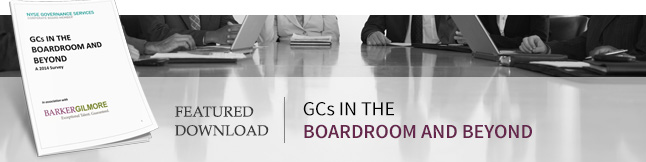 GC's in the Boardroom