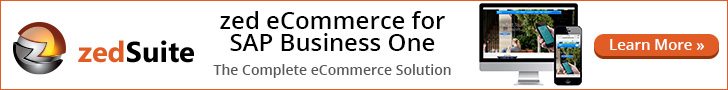 zedSuite eCommerce for SAP Business One