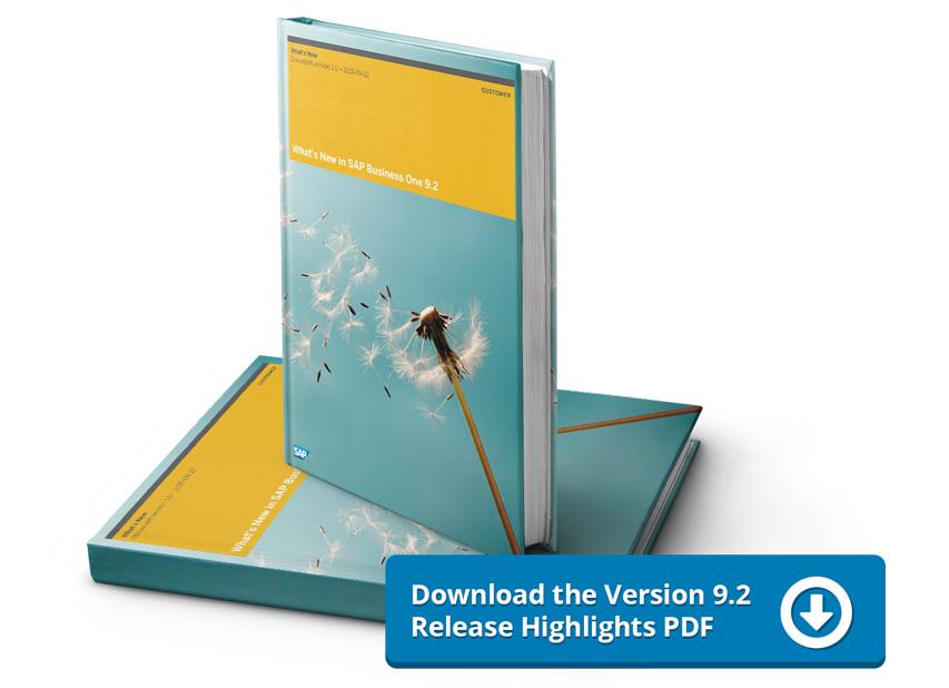 Download the Version 9.2 Release HighlightsPDF