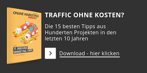 eBook - 15 Inbound Marketing Tipps für Ihre Website