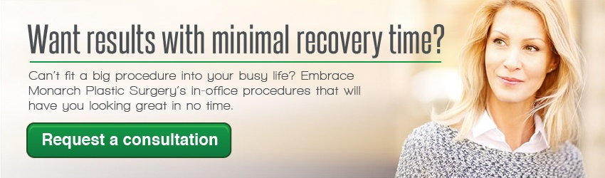 want results with minimal recovery time? try our in-office procedures