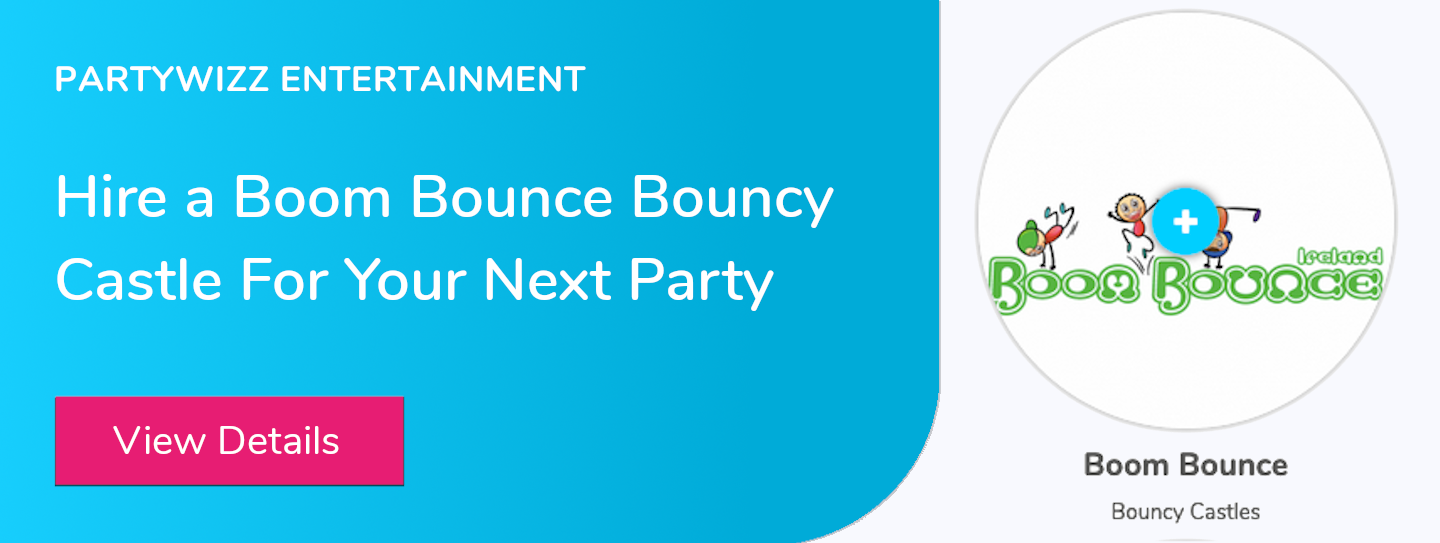 Hire a boom bounce bouncy castle for your next party
