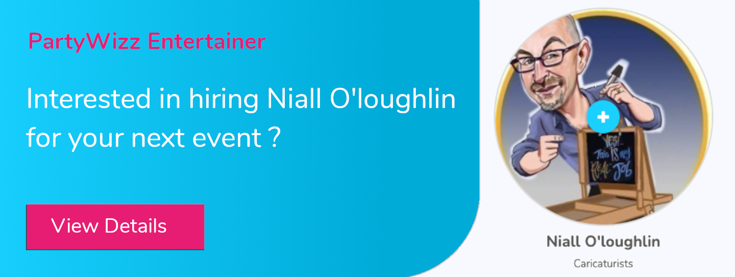 Interested in booking Niall O'loughlin ?