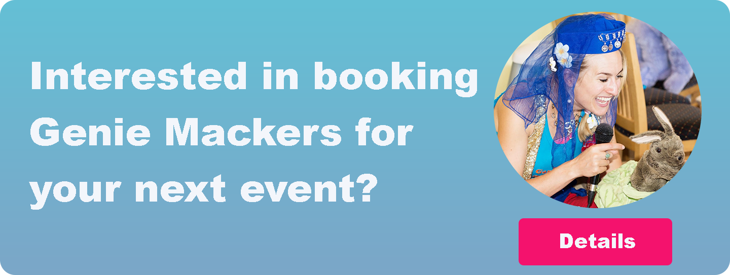 Interested in booking Genie Mackers for your next event?