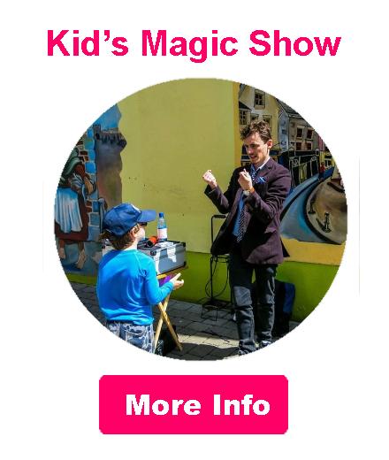 Oisin Foley Family Shows & Kids Magic