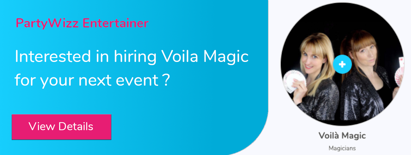 Interested in hiring Voila Magic for your next event?
