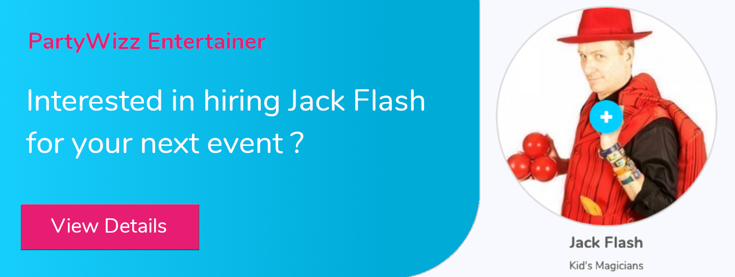 Hire Jack Flash for your next event!