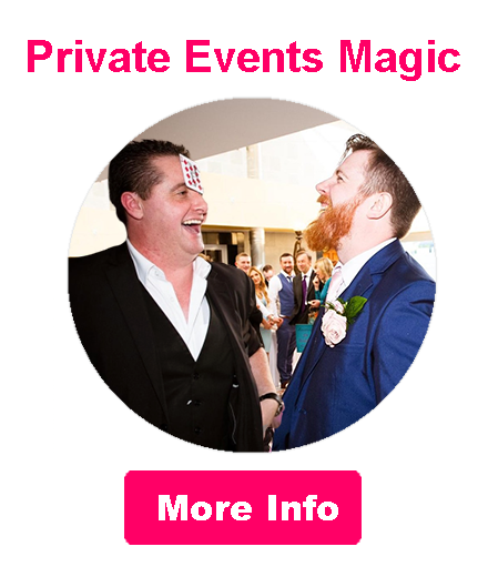 Book Carl Campbell Private Parties Magic