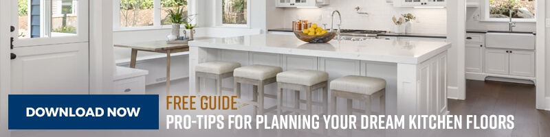 Download our free guide to finding flooring for your dream kitchen