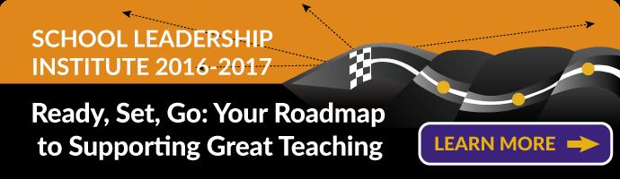 School Leadership Institute 2016/2017