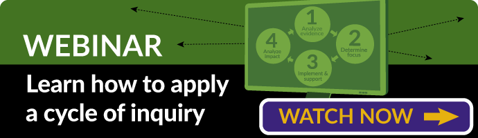 Webinar: Learn how to apply a cycle of inquiry