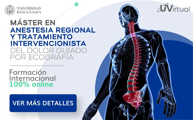 Máster en Anestesia Regional y tratamiento del dolor guiado por ecografía