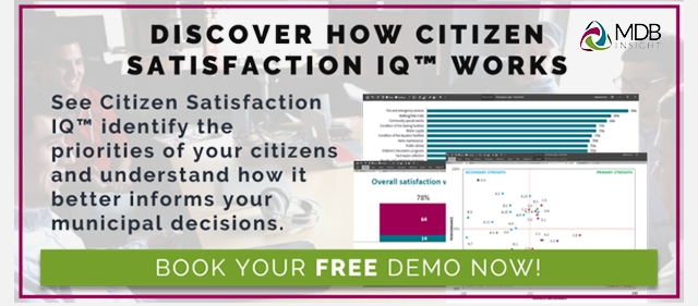 Citizen Satisfaction Demo CTA button