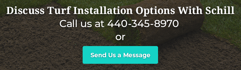 Discuss Turf Installation Options With Schill