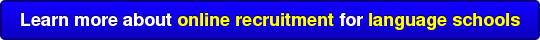Learn more about online recruitment for language schools
