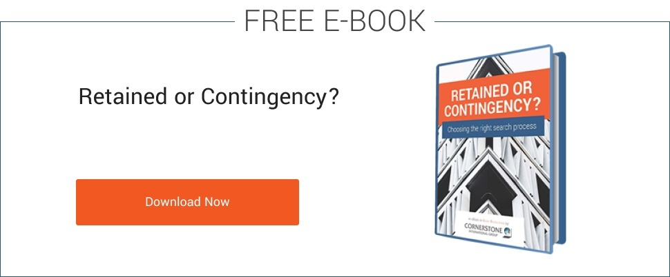FREE ebook - Retained Search vs. Contingency