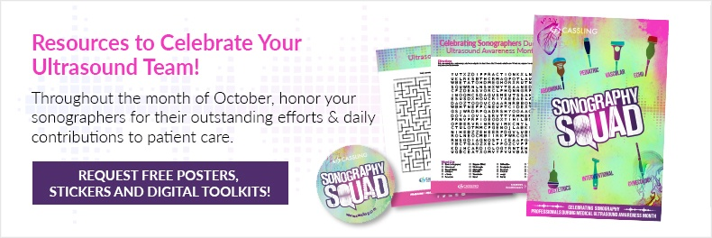 Request Free Posters, Stickers and Digital Toolkits to Celebrate Your Ultrasound Team