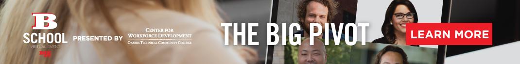 Learn more about Biz 417's B-School Breakfast Series: The Big Pivot