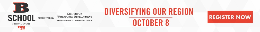 Join us for B-School on October 8 as we discuss Diversifying Our Region.