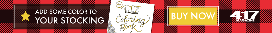 Add color to your stockings this Christmas with a 417 Magazine Coloring Book!